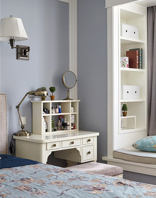 138平美式风格卧室梳妆台图片