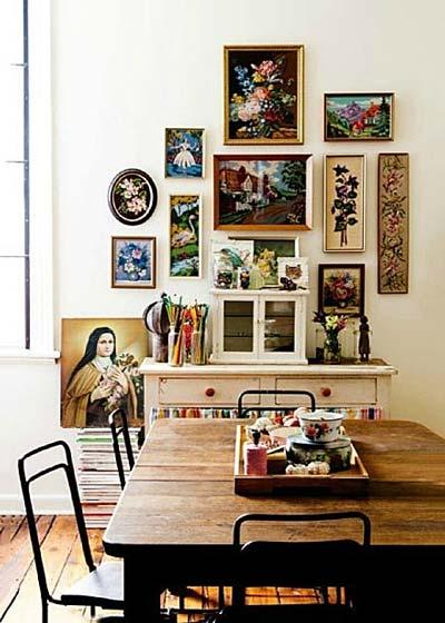 餐厅照片墙装饰装修效果图