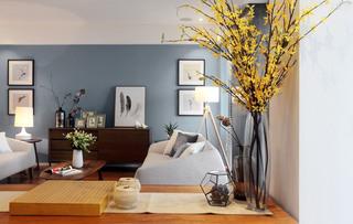 160平现代简约风格客厅装修图