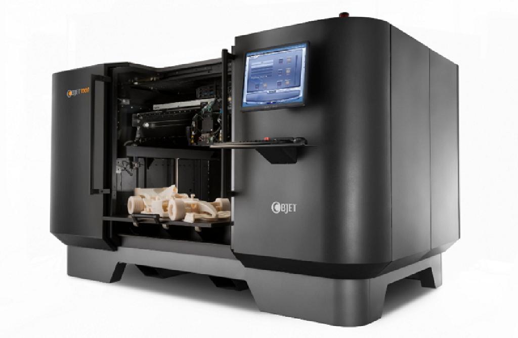 电脑设计的平面物品,而所谓的3d打印机与普通打印机工作原理基本相同