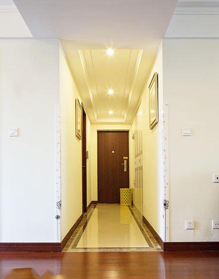 140平米美式风格玄关装修设计