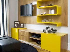12个实用客厅电视背景墙图 还原客厅清爽