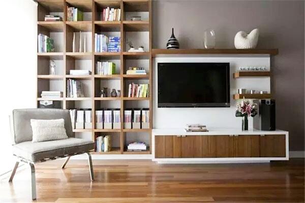 实用客厅电视柜装修