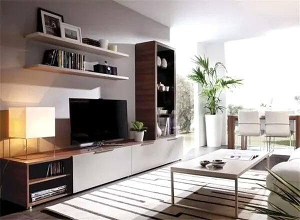 木质客厅电视柜效果图