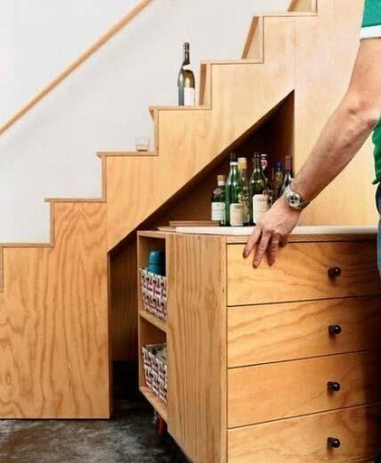 楼梯收纳装修效果图