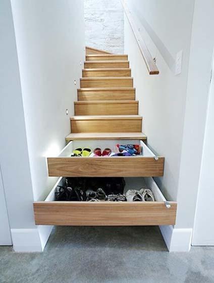 楼梯收纳抽屉设计图
