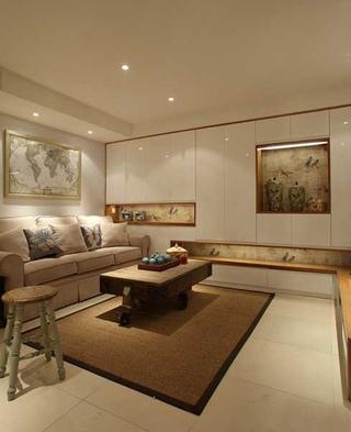 76平小户型装修客厅设计