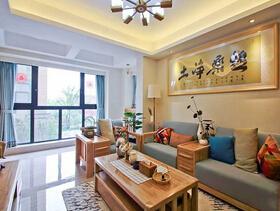 让你眼前一亮的中式风格  明净靓丽的三居室装修