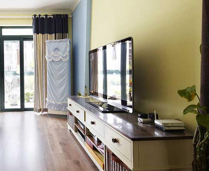地中海装修电视柜图片