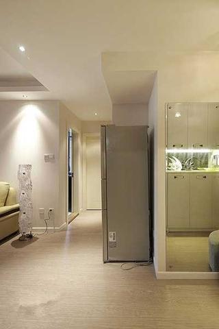 123平两居室装修走道实景图