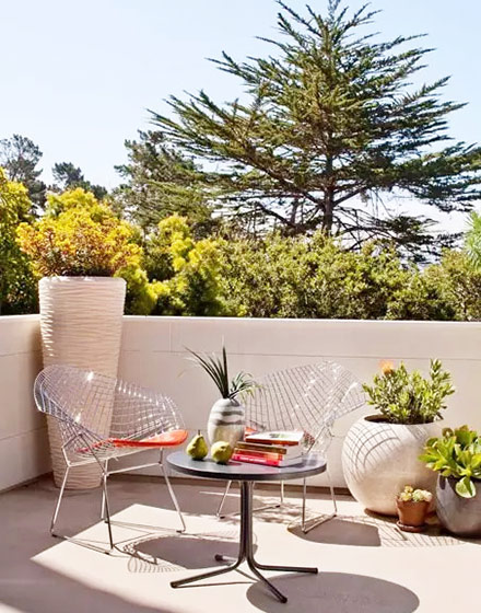 露台花园实景图