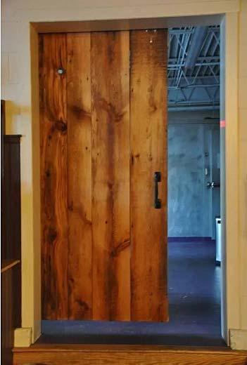 木移门整体设计构造图