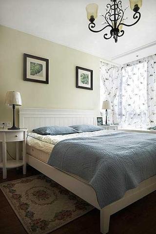 混搭风格装修温馨卧室效果图