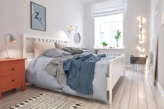 清新简约北欧风卧室效果图