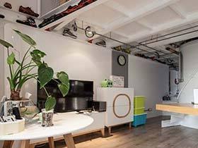 32平米LOFT公寓装修实景图 自由之家