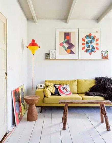小户型客厅沙发效果图