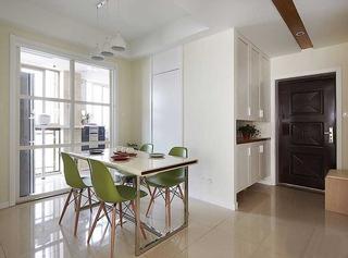 三室两厅现代装修风格餐厅效果图