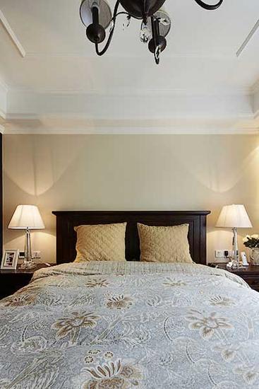 120平雅致美式装修风格卧室效果图