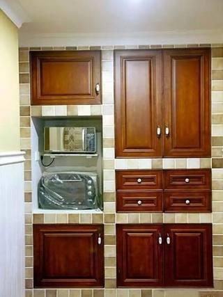 传统橱柜装修装饰图