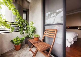 景观阳台设计实景图片