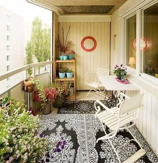 景观阳台设计布置图片