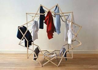 卧室晾衣架效果图