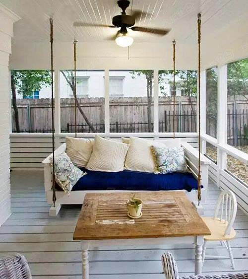 室内吊椅设计欣赏图片