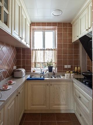 75平温馨小户型装修厨房效果图