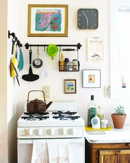 小户型厨房收纳效果图