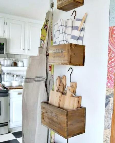 小户型厨房实用收纳设计