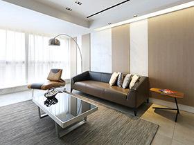 160平现代简约风格三居室装修 简约不单调