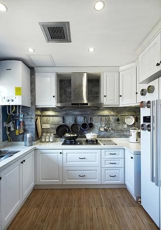 150平简欧小复式装修厨房设计