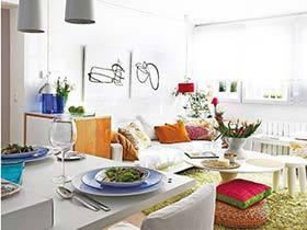 给自己一个夏季新家  10款清新客厅装修图片