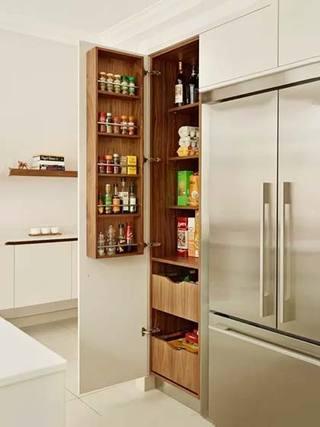 厨房收纳布置效果图片