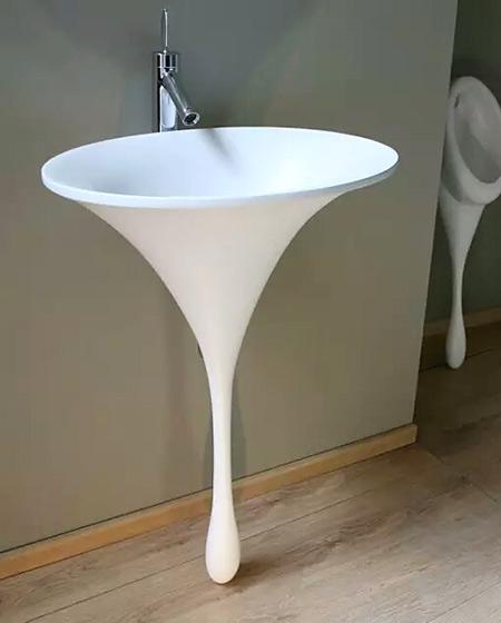 创意卫生间陶瓷台盆设计