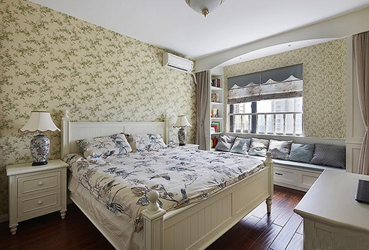 最有魅力的韩式田园风格装修卧室设计