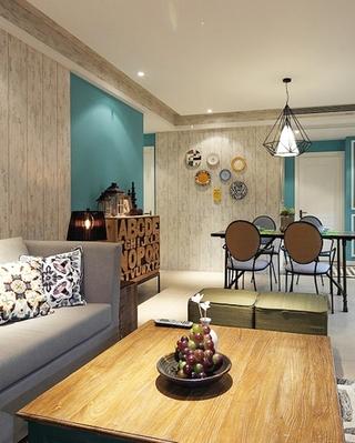 小资情调四房装修效果图客厅设计
