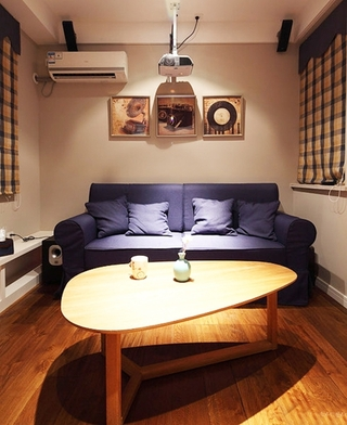 小资情调四房装修效果图文艺气质客厅