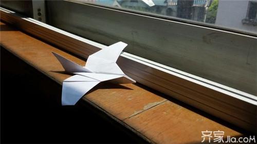燕子纸飞机的折法 勾起童年的回忆