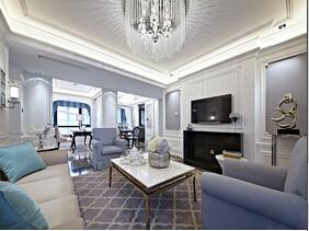 欧式四房装修效果图  高贵与浪漫合二为一