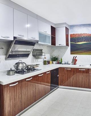 130平接地气的简欧风格装修厨房设计