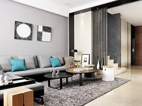 现代简约风格四层别墅装修 实用机能满分