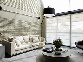 时尚单身空间  轻快风格loft装修