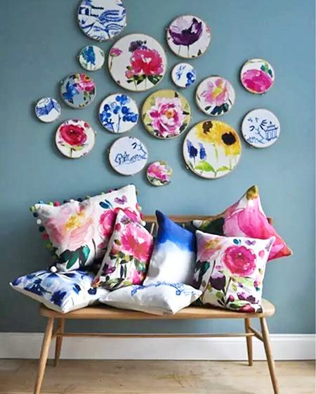 创意沙发背景墙装修设计