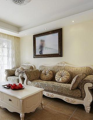 89平温馨小户型装修客厅效果图