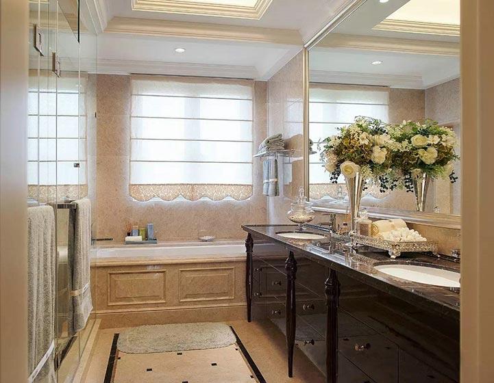 200㎡法式别墅卫生间图片