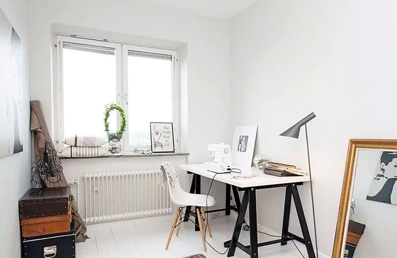 极简主义小书房装修设计图