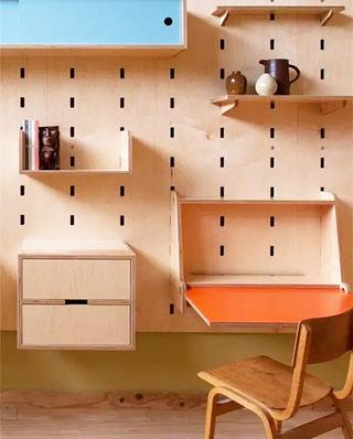 10个书房收纳背景墙装修 一块板抵N个收纳箱6/10