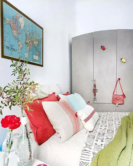 60平米小公寓卧室衣柜图片