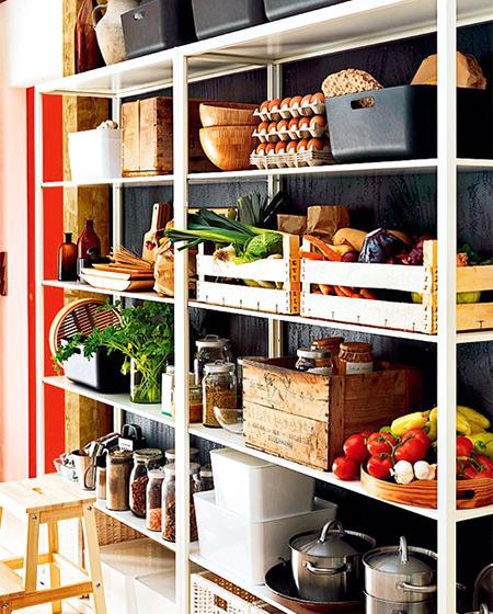 厨房收纳架装修图